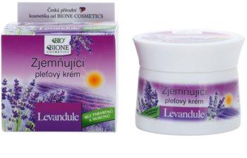 Bione Cosmetics Lavender crema facial con efecto suavizante