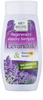 Bione Cosmetics Lavender Herstellende Shampoo voor Alle Haartypen