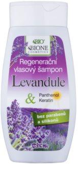 Bione Cosmetics Lavender regeneráló sampon minden hajtípusra