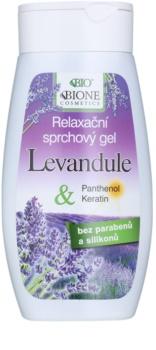 Bione Cosmetics Lavender relaxační sprchový gel
