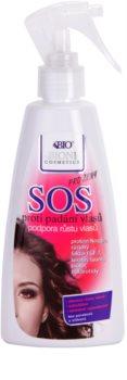 Bione Cosmetics SOS spray wspomagający zdrowy wzrost włosów od nasady