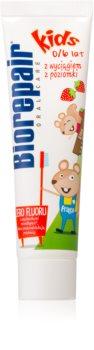 Biorepair Junior pasta de dentes para crianças com sabor de morango