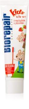Biorepair Junior zubná pasta pre deti s jahodovou príchuťou