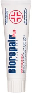 Biorepair Plus Sensitive паста для відновлення зубної емалі для чутливих зубів