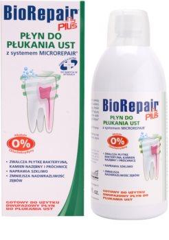Biorepair Plus enjuague bucal para fortalecer y restaurar el esmalte dental