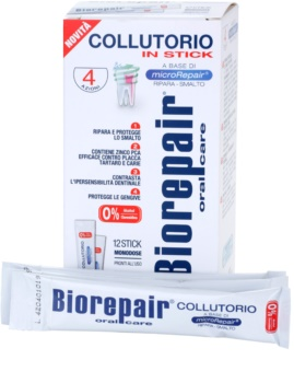 Biorepair Plus Fortifying and Renewing Mouthwash for Tooth Enamel Travel Package
