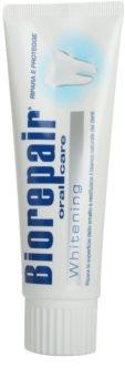 Biorepair Whitening Paste zur Erneuerung des Zahnschmelzes mit bleichender Wirkung