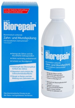 Biorepair Dr. Wolff's enjuague bucal para renovar el esmalte dental