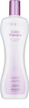 Biosilk Color Therapy šampon za nevtralizacijo rumenih odtenkov
