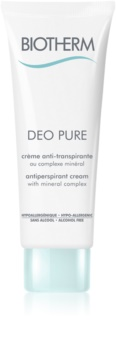 Biotherm Deo Pure Antitranspirant-Creme ohne Alkohol