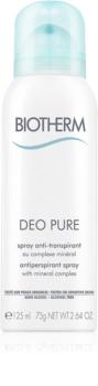 Biotherm Deo Pure antyprespirant w sprayu