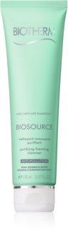 Biotherm Biosource mousse nettoyante pour peaux normales à mixtes