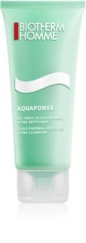 Biotherm Homme Aquapower osviežujúci čistiaci gél na tvár