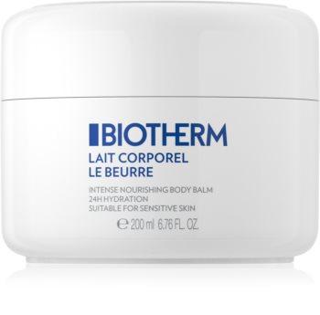 Biotherm Lait Corporel Le Beurre telové maslo pre suchú až veľmi suchú pokožku