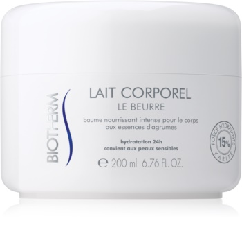 Biotherm Lait Corporel Le Beurre tělové máslo pro suchou až velmi suchou pokožku