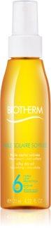 Biotherm Huile Solaire suchý olej na opaľovanie v spreji SPF 6