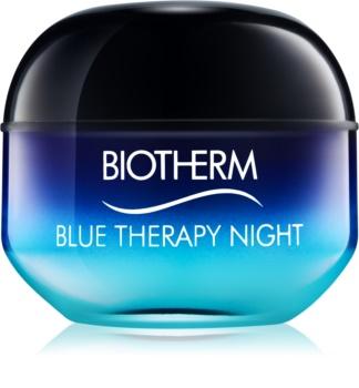 Biotherm Blue Therapy crema de noche antiarrugas  para todo tipo de pieles