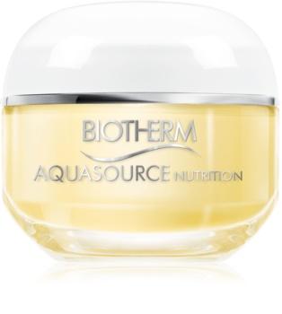 Biotherm Aquasource Nutrition crème hydratante pour peaux très sèches