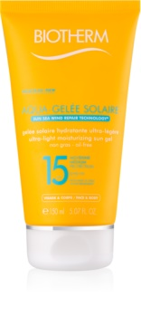 Biotherm Aqua-Gelée Solaire Hydraterende Bruinings Gel  SPF 15