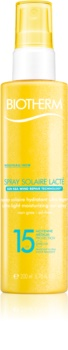 Biotherm Spray Solaire Lacté Hydraterende Bruinings Spray  SPF 15
