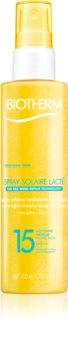 Biotherm Spray Solaire Lacté spray solaire hydratant SPF 15