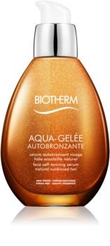 Biotherm Aqua-Gelée Autobronzante siero autoabbronzante viso