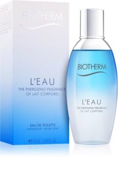 Biotherm L'Eau eau de toilette pour femme 50 ml