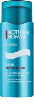 Biotherm Homme T-Pur Anti-oil & Shine Mattifying Gel with Moisturising Effect