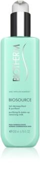Biotherm Biosource mlijeko za čišćenje i skidanje make-upa za normalnu i mješovitu kožu lica