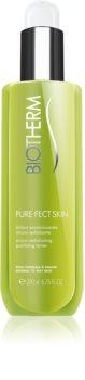 Biotherm PureFect Skin lotion tonique nettoyante et exfoliante pour peaux normales à grasses