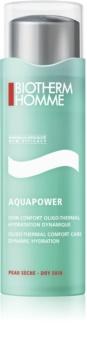 Biotherm Homme Aquapower kuracja nawilżająca do skóry suchej