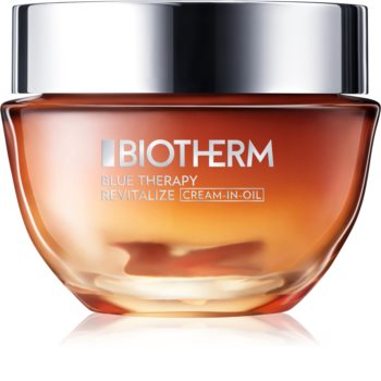 Biotherm Blue Therapy Cream-in-Oil nährende und erneuernde Creme für normale und trockene Haut