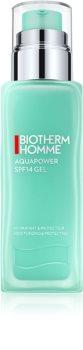 Biotherm Homme Aquapower gel idratante e protettivo con fattore di protezione UV