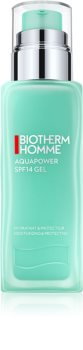 Biotherm Homme Aquapower hydratační a ochranný gel SPF 15