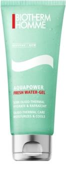Biotherm Homme Aquapower освежаващ гел за лице с хидратиращ ефект