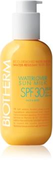 Biotherm Waterlover Sun Milk αδιάβροχο αντηλιακό γάλα SPF 30