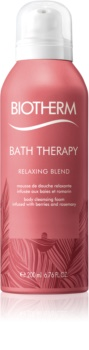 Biotherm Bath Therapy Relaxing Blend mousse nettoyante corps