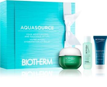 Biotherm Aquasource Kosmetik-Set  X.