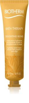 Biotherm Bath Therapy Delighting Blend beruhigende Creme für die Hände