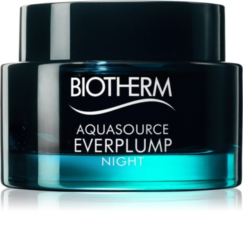 Biotherm Aquasource Everplump Night Gezichts Nachtmasker  voor Regeneratie en Huid Herstel