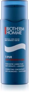 Biotherm Homme T-Pur Anti-Imperfections concentrato contro le imperfezioni della pelle acneica