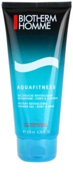 Biotherm Aquafitness gel za prhanje in šampon 2v1