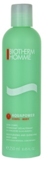 Biotherm Homme Aquapower lait hydratant corps pour tous types de peau