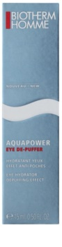 Biotherm Homme Aquapower хидратиращ гел за очи против отоци