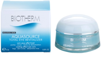 Biotherm Aquasource Total Eye Revitalizer Eye Care Against Dark Circles And Swelling With Cooling Effect