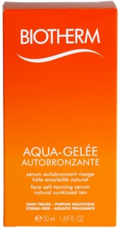 Biotherm Aqua-Gelée Autobronzante Zelfbruinende Gezichts Serum