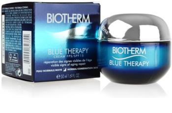 Biotherm Blue Therapy denný protivráskový krém pre normálnu až zmiešanú pleť