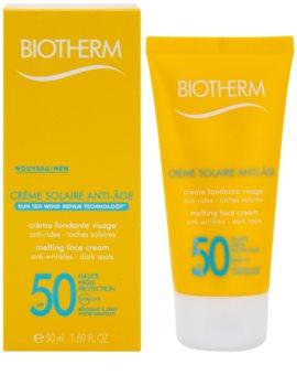 Biotherm Créme Solaire Anti-Age крем проти зморшок для засмаги SPF50
