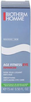Biotherm Homme Age Fitness Advanced Eye Gel-Creme für die Augen gegen die Alterung