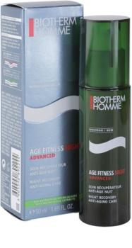 Biotherm Homme Age Fitness Advanced Night gel de nuit visage anti-âge
